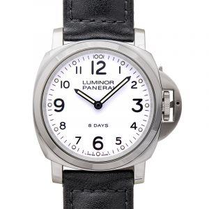 Luminor Base 8 Days Manual-winding White Dial 44 mm Men's Watch
