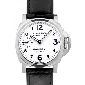 Luminor Marina 8 Days Acciaio Manual-winding White Dial 44 mm Men's Watch