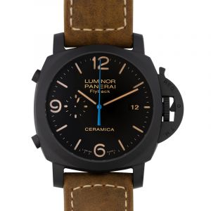 Luminor Chrono Flyback Automatic Black Dial 44 mm Men's Watch