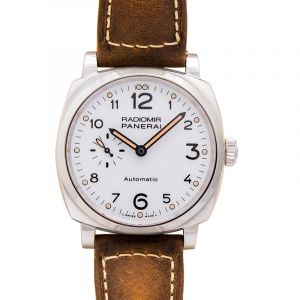 Radiomir Automatic White Dial Men's Watch