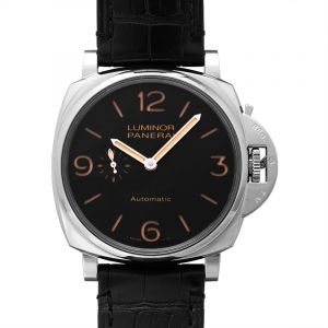 Luminor Due Automatic Black Dial 45 mm Men's Watch