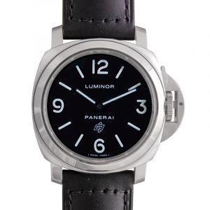 Luminor Base Logo Manual-winding Black Dial 44 mm Men's Watch