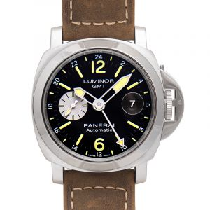 Luminor GMT Automatic Black Dial 44 mm Men's Watch