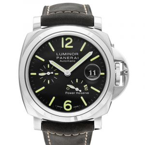Luminor Power Reserve Automatic 44mm Black Dial Men's Watch