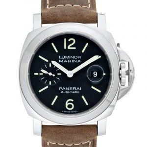 Luminor Marina Automatic Black Dial 44 mm Men's Watch