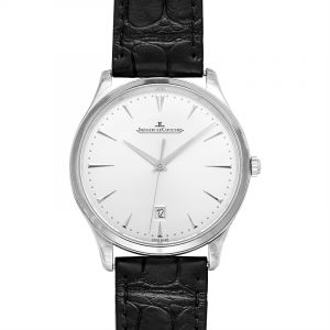 Master Ultra Thin Date Silver Dial Men's Watch