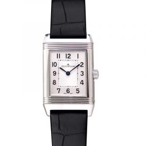 Reverso Classic Small Quartz Silver Dial Ladies Watch