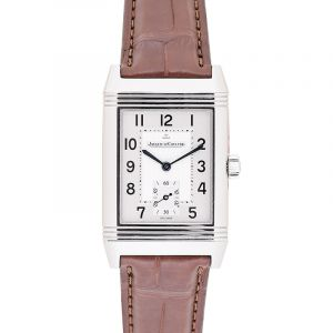 Reverso Grande Taille Manual-winding Silver Dial Men's Watch