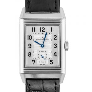 Reverso Classic Large Small Seconds Manual-winding Silver Dial Men's Watch