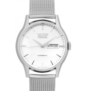 Heritage Visodate Automatic Silver Dial Men's Watch