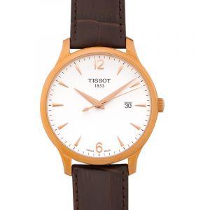 T-Classic Quartz Silver Dial Men's Watch