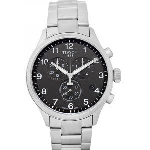 TISSOT Chrono XL Classic Black Dial Men's Watch 45mm