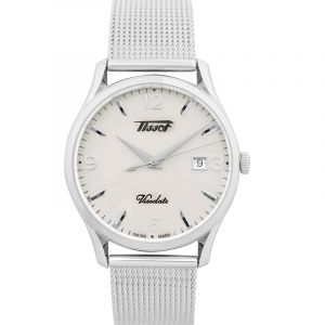 Heritage Visodate Quartz Silver Dial Men's Watch