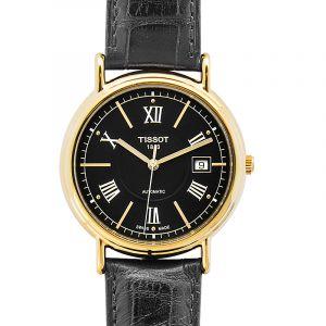 T-Gold Black Dial Men's Watch