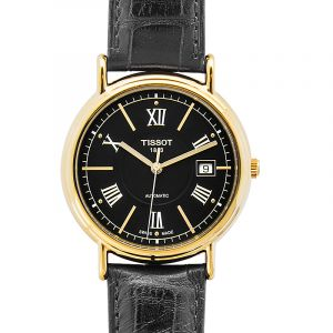 T-Gold Black Dial Men's Watch