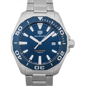 Aquaracer Quartz Blue Dial Men's Watch WAY101C.BA0746