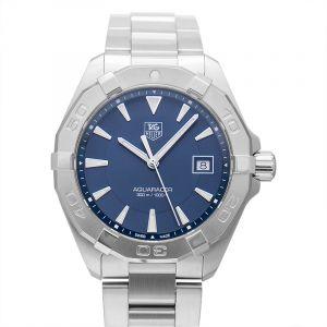 Aquaracer Quartz Blue Dial Men's Watch