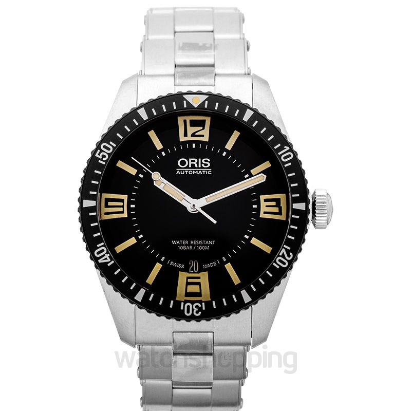 Oris Divers Sixty-Five Automatic Black Dial Men's Watch