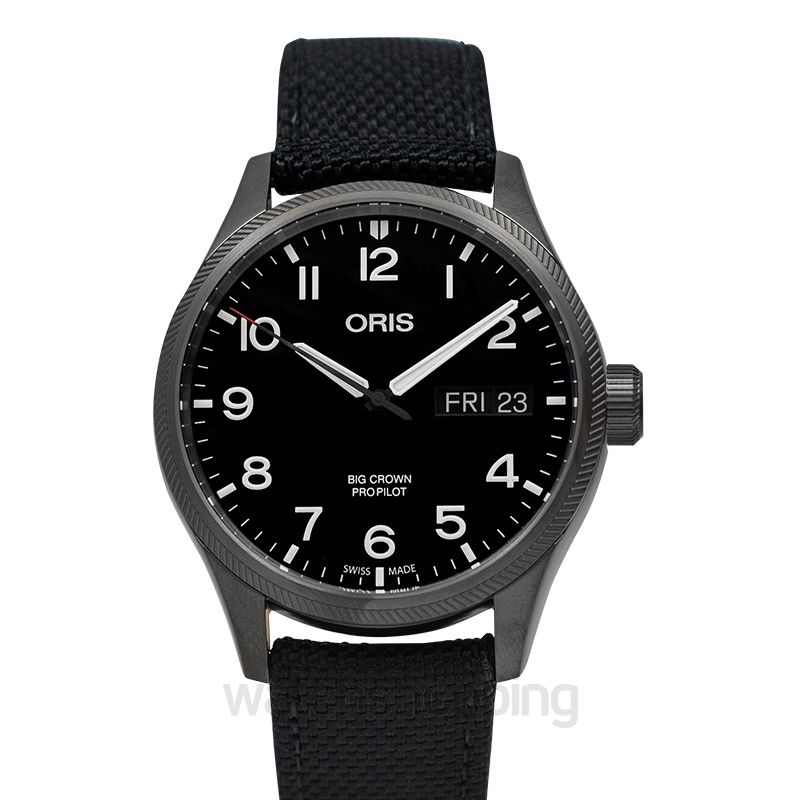 Oris Big Crown ProPilot Big Day Date Automatic Black Dial Men's Watch