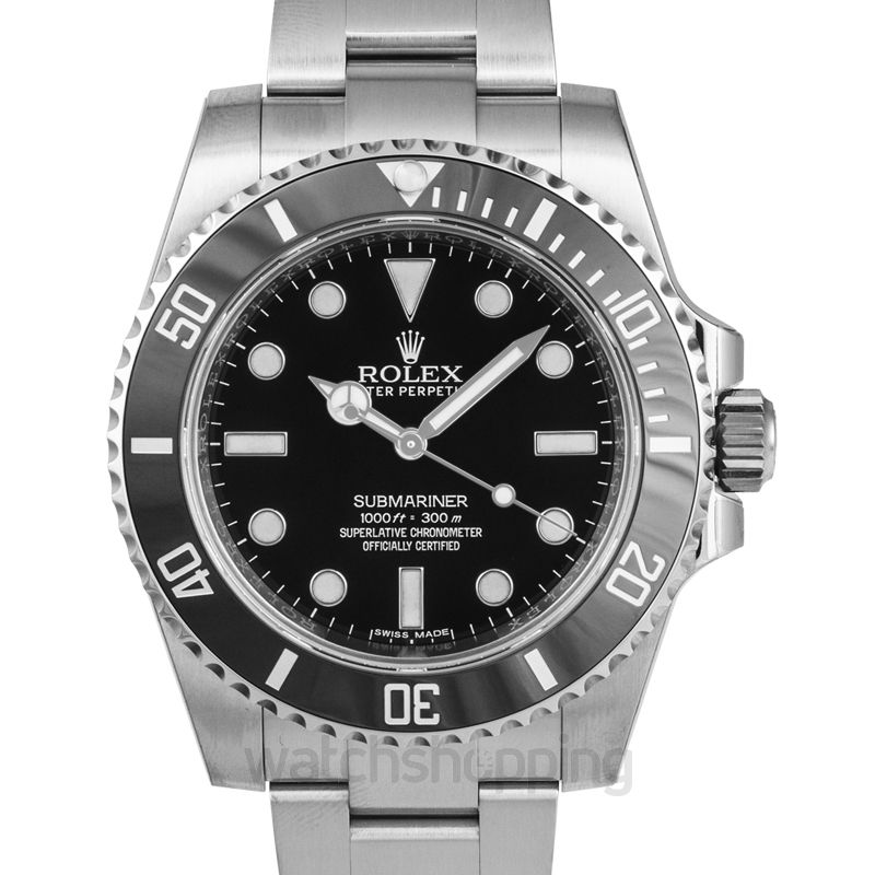 Rolex Submariner Automatic Black Dial Men's Watch
