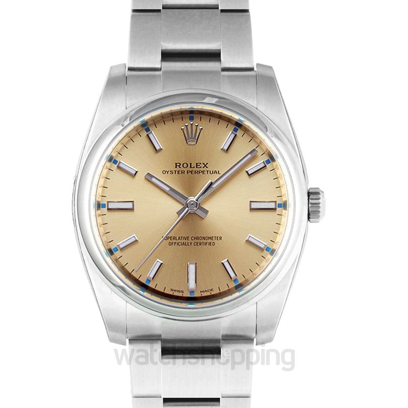 Rolex Oyster Perpetual 34 Champagne