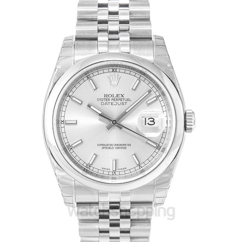 Rolex Datejust Automatic Silver Dial Men's Watch