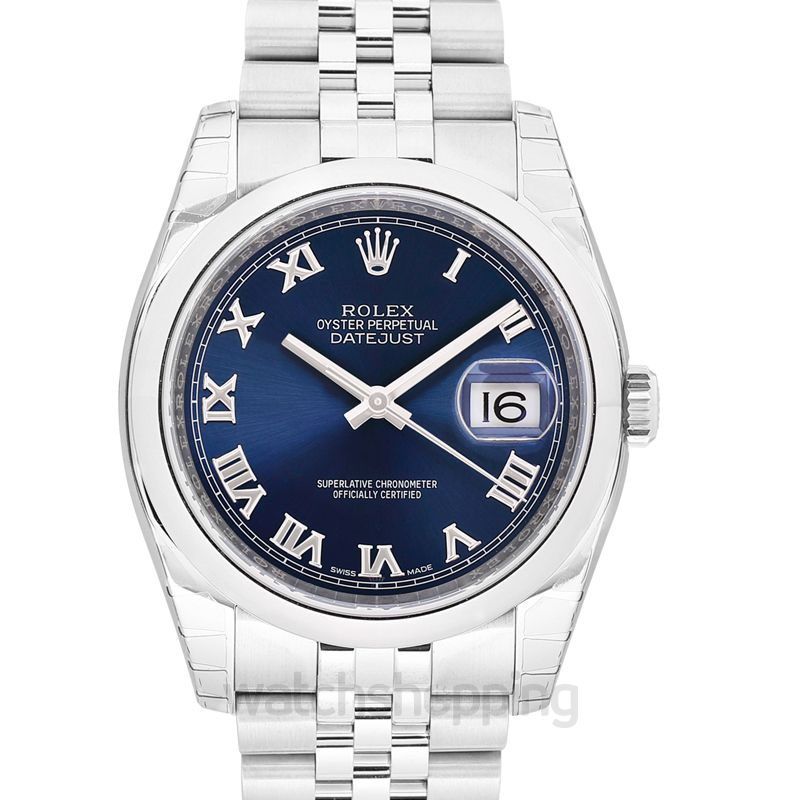 Rolex Datejust Automatic Blue Dial Men's Watch