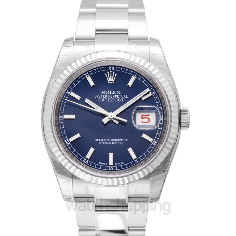 Rolex Datejust Automatic Blue Dial Men's Watch