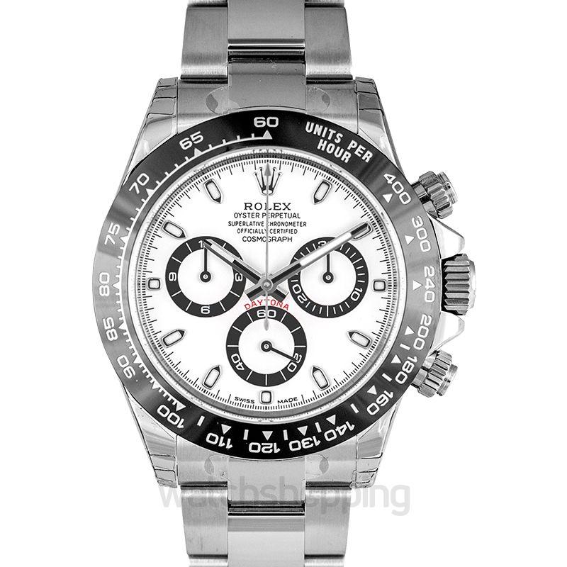 Rolex Cosmograph Daytona Steel / Cerachrom / White