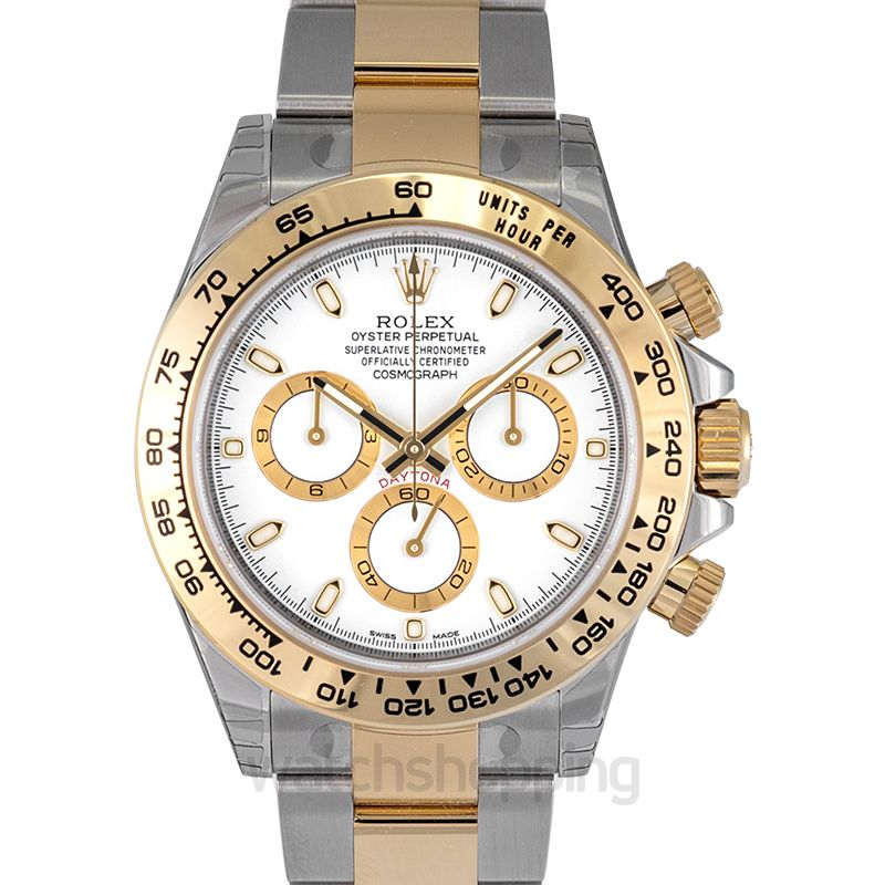 8f455a6dd3d Rolex Cosmograph Daytona Automatic White Dial Men's Watch image 1 ...