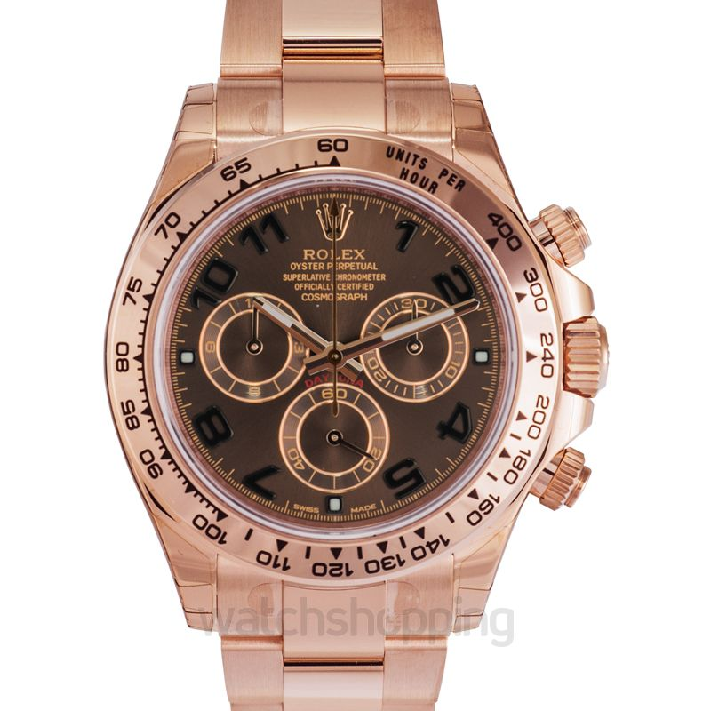 Rolex Cosmograph Daytona Automatic Brown Dial Men's Watch