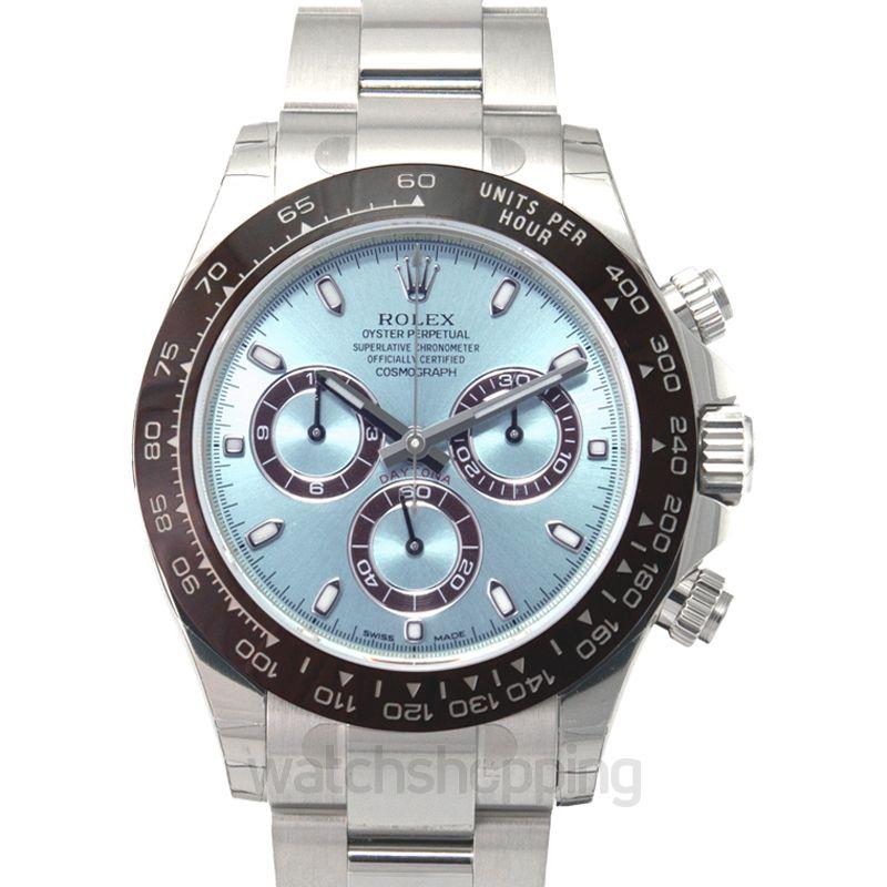 Rolex Cosmograph Daytona Platinum / Cerachrom / Ice Blue