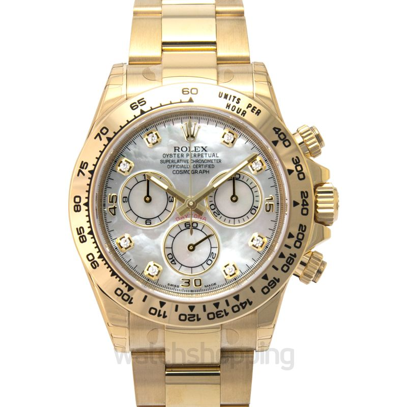 Rolex Cosmograph Daytona Automatic White Dial Men's Watch