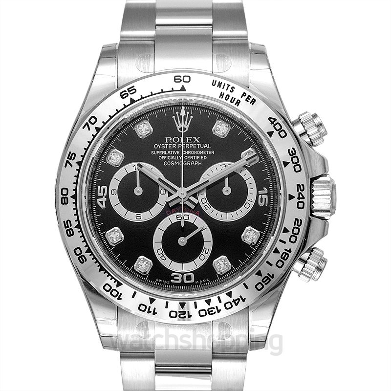 Rolex Cosmograph Daytona Automatic Black Dial Men's Watch