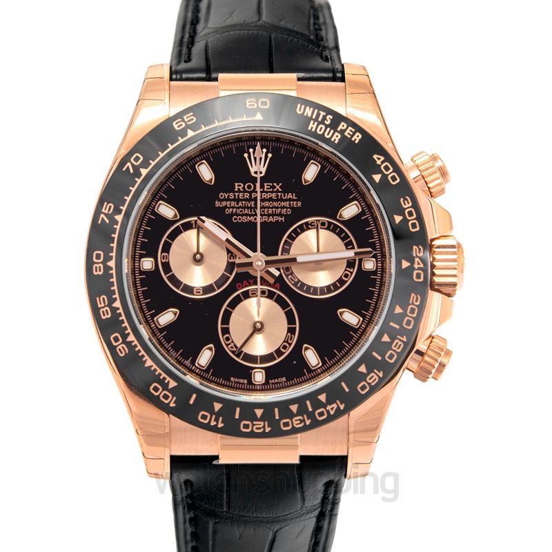 Rolex Daytona Everose / Cerachrom / Black / Strap