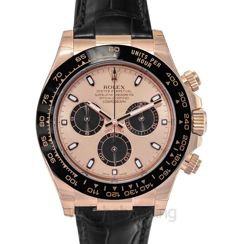 Rolex Cosmograph Daytona Automatic Pink Dial Men's Watch