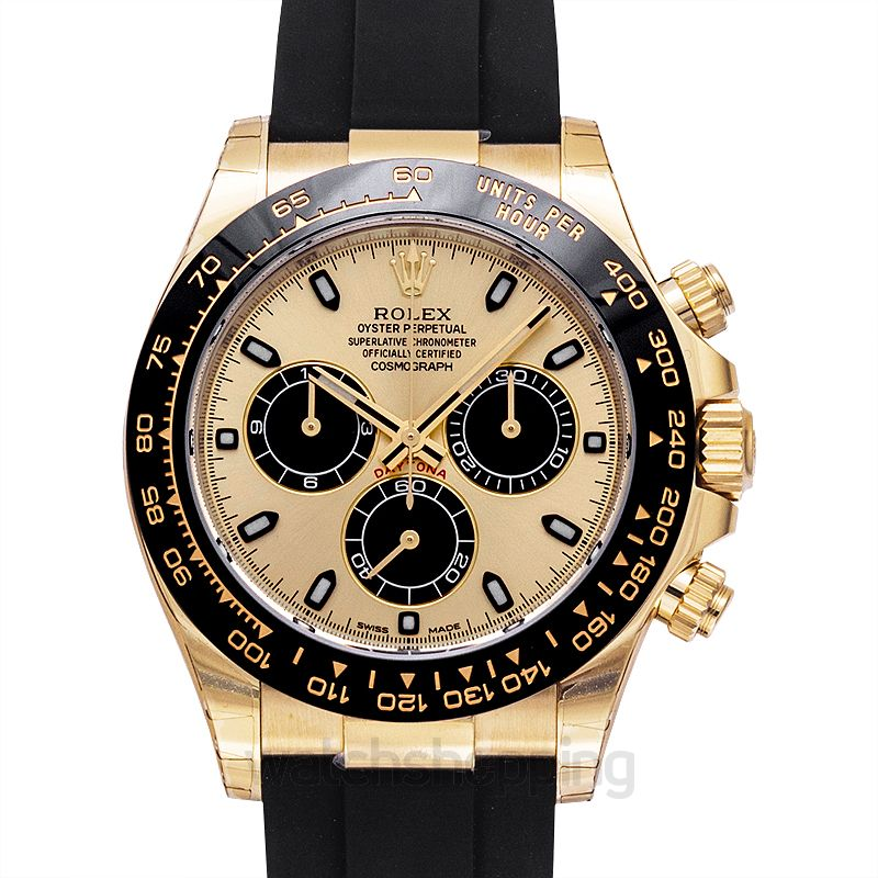 Rolex Cosmograph Daytona Automatic Champagne Dial Men's Watch