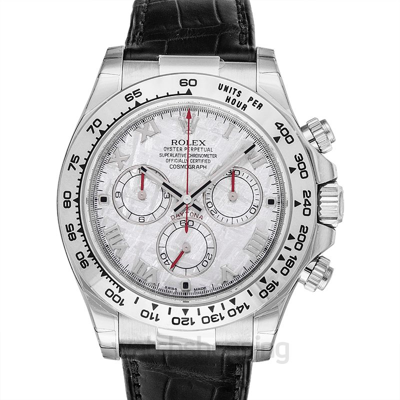 Cosmograph Daytona 18ct White Gold Automatic Grey Dial Men\u0027s Watch