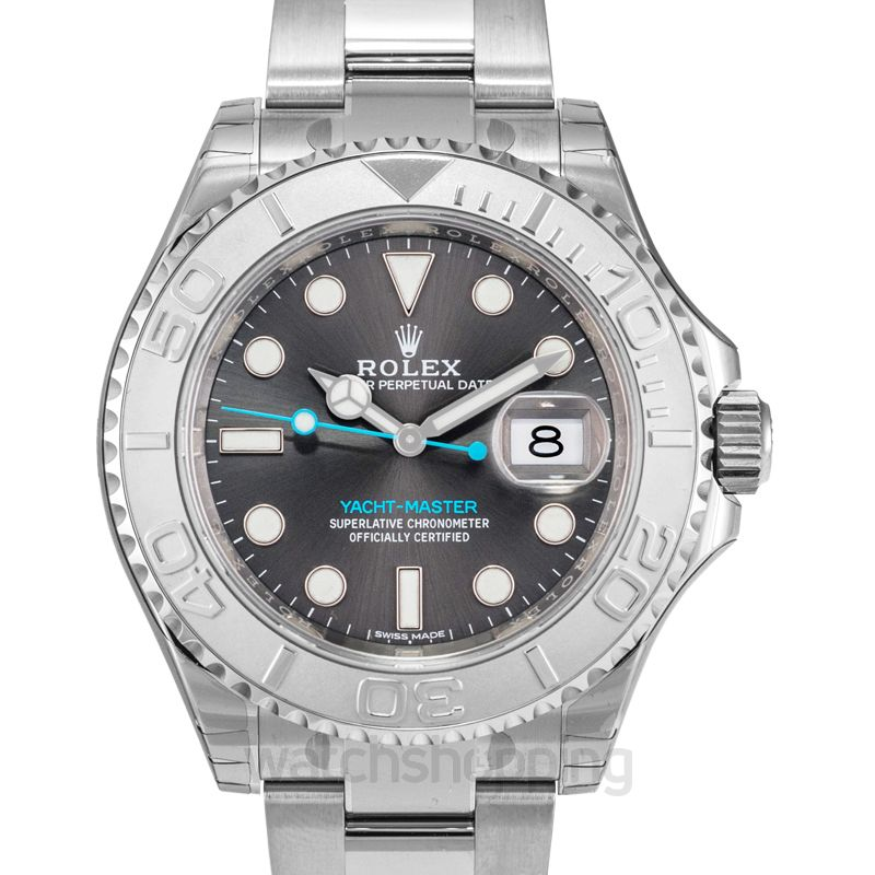 Rolex Yacht Master Automatic Grey Dial Men's Watch