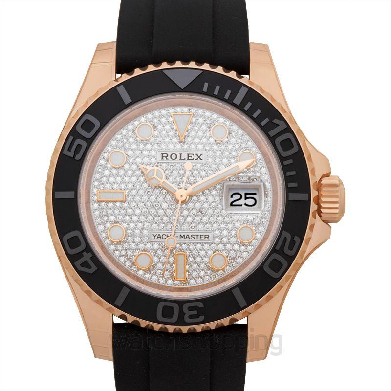 Rolex Yacht Master Automatic Diamond Dial Men's Watch