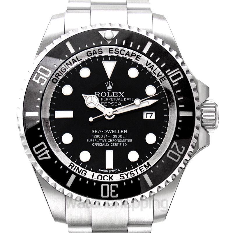 Rolex Sea Dweller Automatic Black Dial Men's Watch