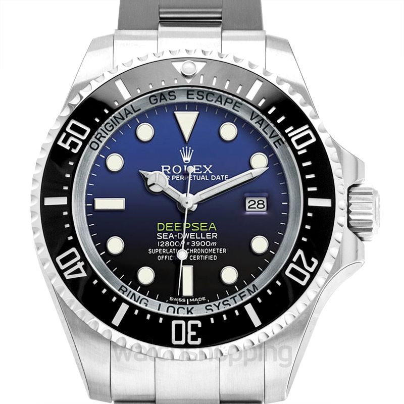 Rolex Rolex Deepsea D-Blue Dial Stainless Steel Oyster Automatic Men's Watch 116660BLSO