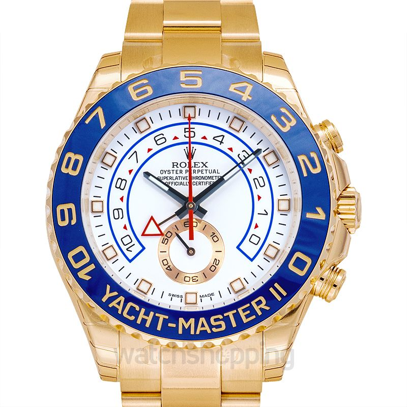 Rolex Yacht-Master 2 Yellow Gold