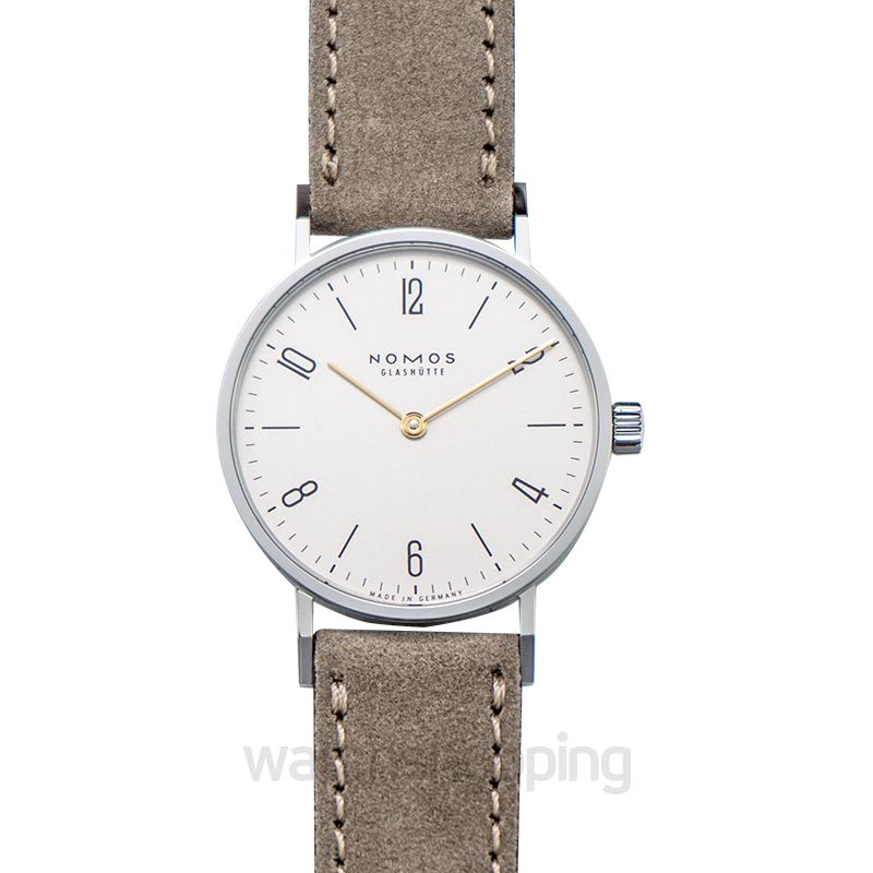 Nomos Glashütte Tangente 33 Duo Manual-winding White Dial 32.8mm Unisex Watch