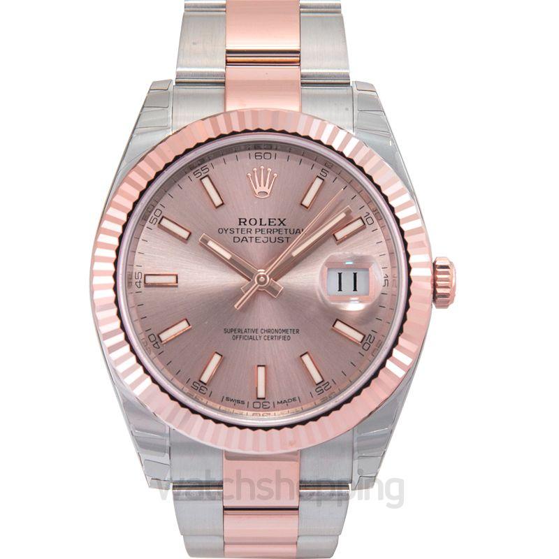 Rolex Datejust Automatic Bronze Dial Men's Watch