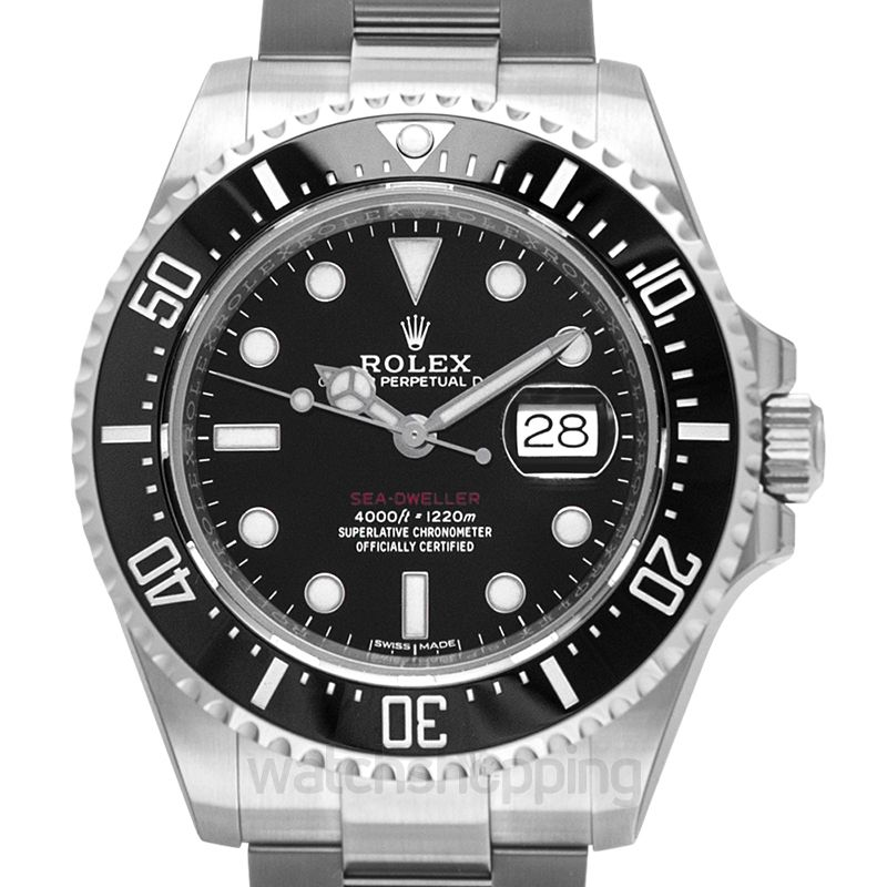 Rolex Rolex Oyster Perpetual Sea-Dweller 43 mm Ceramic Bezel Stainless Steel Men's Watch 126600BKSO