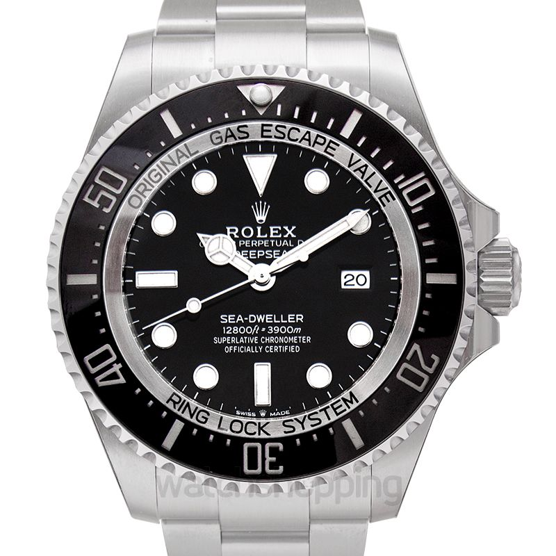 Rolex Rolex Deepsea Black Dial Automatic Men's Stainless Steel Oyster Watch 126660BKSO