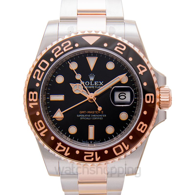 Gmt Master Ii Stainless Steel Everose Chnr Oyster
