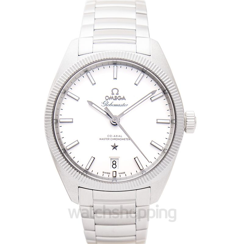 Omega Constellation Globemaster Co‑Axial Master Chronometer 39 mm Automatic Silver Dial Steel Men's Watch
