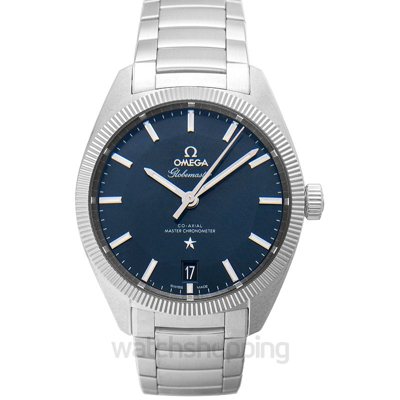 Omega Constellation Globemaster Co‑Axial Master Chronometer 39mm Automatic Blue Dial Steel Men's Watch